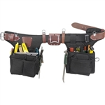 Occidental Leather 9540 Adjust-to-Fit Finisher Best Tool Belt Systems Made in America