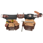 Occidental Leather 9550LH Adjust-to-Fit Pro Framer  - Left Handed Best Tool Belt Systems Made in America