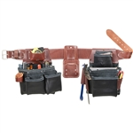 Occidental Leather B5080DBLH M Pro Framer Set - Black Best Tool Belt Systems Made in America