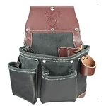 Occidental Leather B5612 Green Building Tool Bag - In Black Best Tool Belt Systems Made in America
