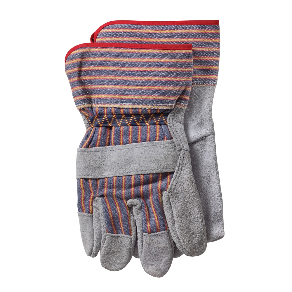 Gauntlet cuff leather work gloves - Protective Industrial Products Wa4234a Brahma Work Gloves Leather Palm Gloves