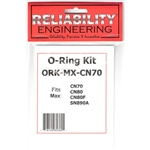 Reliability Engineering ORK-MX70 O-Ring Kit for Max: CN70/CN80/CN80F/SN90A