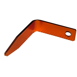 "Reliability Engineering RE-GH1 Gun Hook Fits on a 1/4"" Air Fitting, 4"" out and 5"" down, Orange Color"