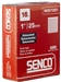 SENCO M001003 16 Ga. Straight Strip Finish Nails
