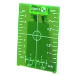 Stabila 07442 Green Ceiling Target Plate