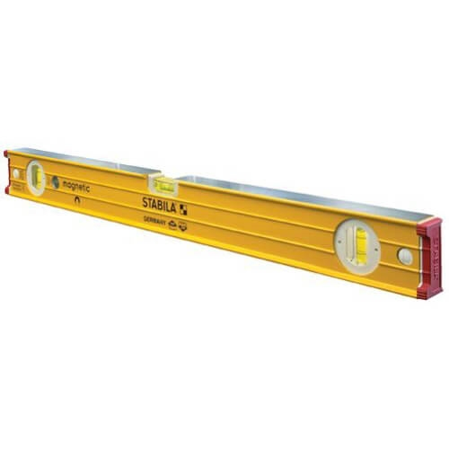 "Stabila 38648 - 48"" builder's level, Magnetic, High Strength Frame, Accuracy Certified Professional Level"