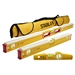 Stabila 48296 Mason 3 Piece Level Set