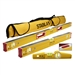 Stabila 48380 Magnetic 3 Piece Level Set