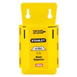 Stanley 11-931D Stanley Extra Heavy Duty Utility Blades W/ Dispenser - 70Pack - TRIMMING BLADES