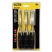 Stanley Hand Tools 16-150 3 Piece Chisel Set