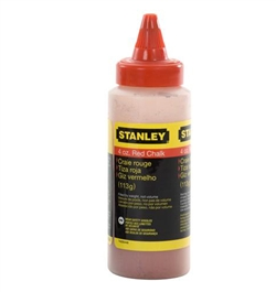 Stanley Hand Tools 47-804 8 oz. Red Chalk