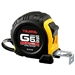 Tajima Hand Tools G-5.5MBW Features 5.5m x 1 inch wide acrylic-coated steel tape