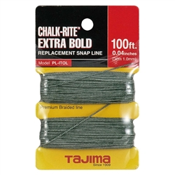 Tajima Hand Tools PL-ITOL Features OEM replacement snap-line for Chalk-Rite Series snap-line tools