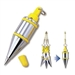 Tajima Hand Tools PQB-200 Features Unique plumb bobs with quick-stabilizing cap that reduces bob wobble and spin