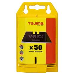 Tajima Hand Tools VRB-50B Features Optimized for drywall, an upgrade for the traditional utility knife