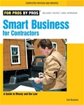 Taunton Press 070938 Taunton's For Pros By Pros: Smart Business for Contractors Paperback 8 x 10 in. 240 pages  Published 2007