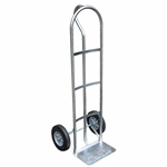 Vestil SPHT-500S-HR Steel P-Handle Truck 500 Lb Hard Rubber - Industrial/Commercial Carts & Dollies