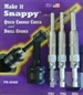 Snappy Tools 45400 Quick Change Chuck with 3 Piece Vix Set