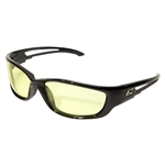 Edge GSK-XL112 Kazbek XL - Black / Yellow Lens with Gasket