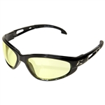 Edge GSW112 Dakura - Black / Yellow Lens with Gasket