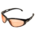 Edge GSW114 Dakura - Black / Amber Lens with Gasket