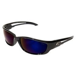 Edge SK-XL118 Kazbek XL - Black / Blue Mirror Lens