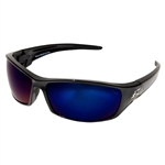 Edge SR118 Reclus - Black / Blue Mirror Lens