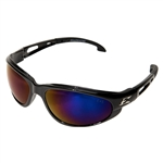 Edge SW118 Dakura - Black / Blue Mirror Lens