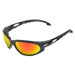 Edge SWAP119 Dakura - Black / Aqua Precision Red Mirror Lens