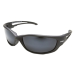 Edge TSK-XL21-G15-7 Kazbek XL Polarized - Black / G-15 Silver Mirror Lens
