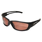 "Edge TSK-XL215 Kazbek XL Polarized - Black / Copper ""Driving"" Lens"