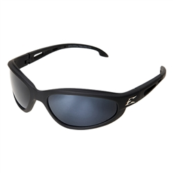 Edge TSM21-G15-7 Dakura Polarized - Black / G-15 Silver Mirror Lens