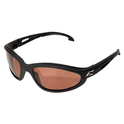 "Edge TSM215 Dakura Polarized  - Black / Copper ""Driving""  Lens"