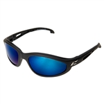 Edge TSMAP218 Dakura Polarized - Black / Aqua Precision Blue Mirror Lens