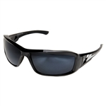 Edge TXB21-G15-7 Brazeau Polarized - Black / G-15 Silver Mirror Lens