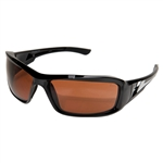 "Edge TXB215 Brazeau Polarized - Black / Copper ""Driving"" Lens"