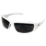 Edge TXB246 Brazeau - White / Polarized Smoke Lens