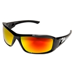 Edge XBAP119 Brazeau - Black / Aqua Precision Red Mirror lens