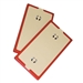 ZipWall NSP2 Replacement Non-Skid Plates, 2 Packs
