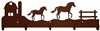 Wildlife Coat Hook- Horse and Barn Design