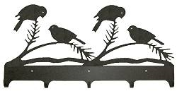 Wildlife Coat Hooks- Chickadee Design