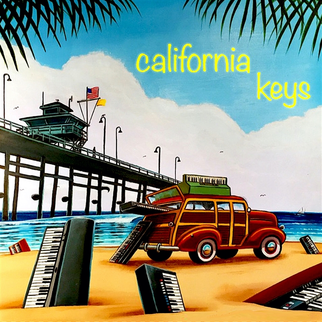 California Keys sample library, NKS Kontrol, Kontakt Player, Vintage samples,