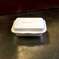 "StalkMarket Compostable Bagasse Clamshell 9"" x 6"" x 3"""