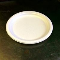 "EcoSource Compostable Bagasse 10"" Round Plate"