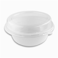 StalkMarket PET Dome Lid for 32 oz Bagasse Bowl