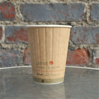 Planet+ Compostable Insulated Hot Cup 12 oz