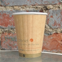 Planet+ Compostable Insulated Hot Cup 8 oz