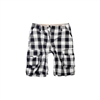 Checkered Bermuda Shorts