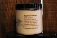 Body Butter-Rose Geranium