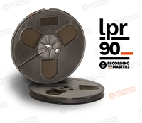 "LPR90 Reel to Reel Audio Recording Tape on 10.5"" NAB Metal Reel by Recording The Masters (RTM)"